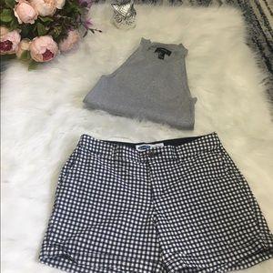 F21 Sleeveless crop top / knit fabric size L